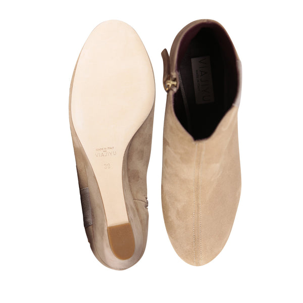 OLBIA, VIAJIYU - Women's Hand Made Luxury Flat Shoes. Made in Italy. Made to Order. Design your own. Booties