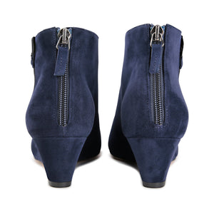 OLBIA (faux suede), VIAJIYU - Women's Hand Made Sustainable Luxury Shoes. Made in Italy. Made to Order.