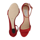 Otranto Velukid Burnt Siena, VIAJIYU - Women's Hand Made Luxury Flat Shoes. Made in Italy. Made to Order. Design your own.
