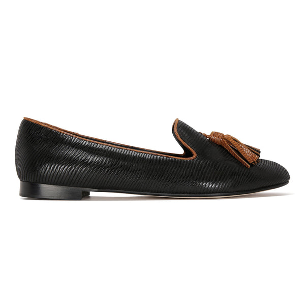 Parma, VIAJIYU - Women's Hand Crafted Luxury Flats. Made in Italy. Made to Order. Design your own.