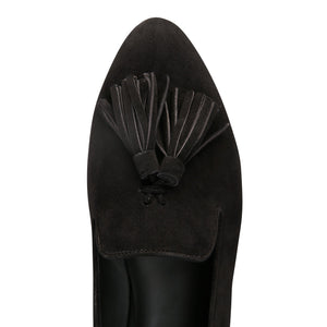 PARMA - Velukid Nero, VIAJIYU - Women's Hand Made Sustainable Luxury Shoes. Made in Italy. Made to Order.