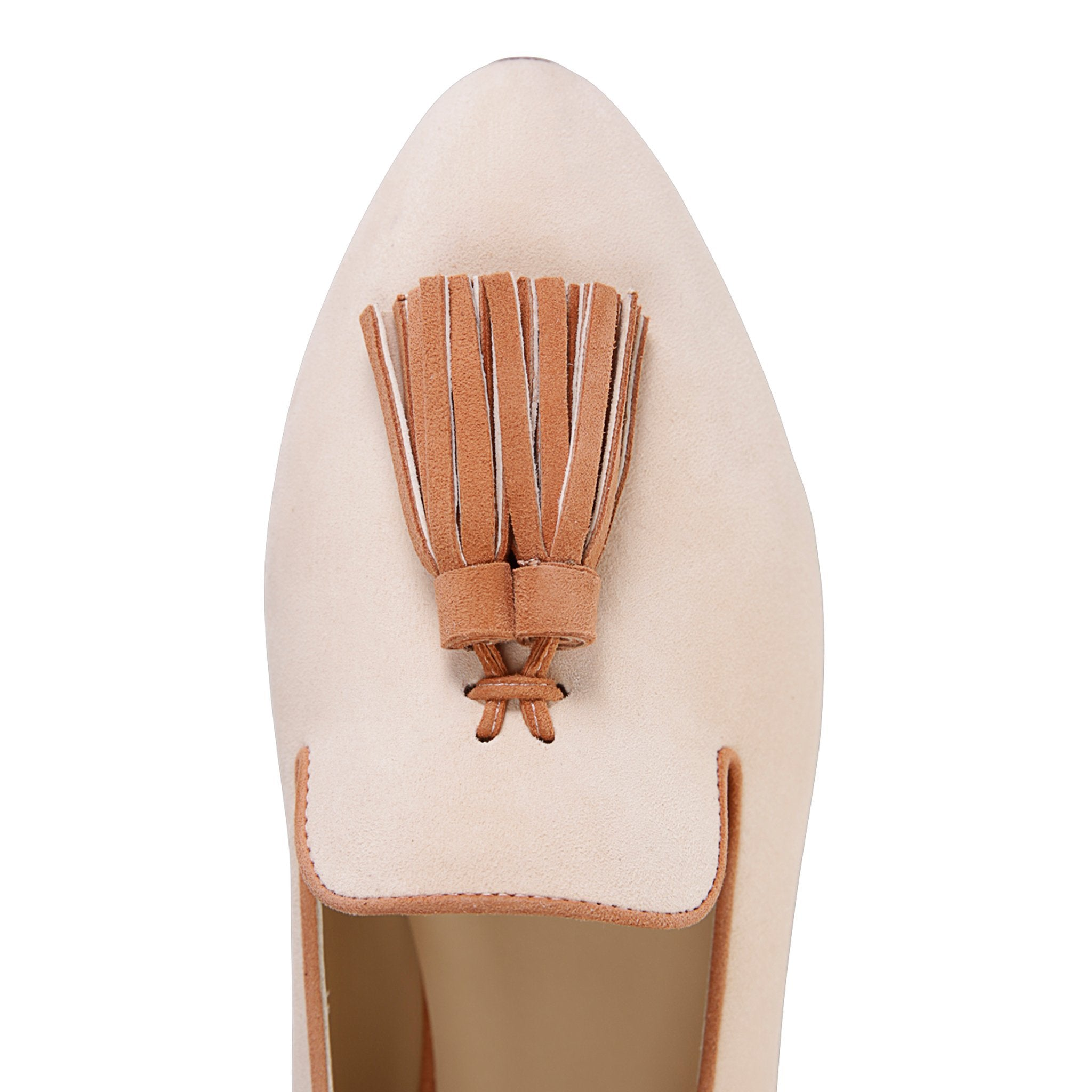 PARMA - Velukid Panna + Dune, VIAJIYU - Women's Hand Made Sustainable Luxury Shoes. Made in Italy. Made to Order.