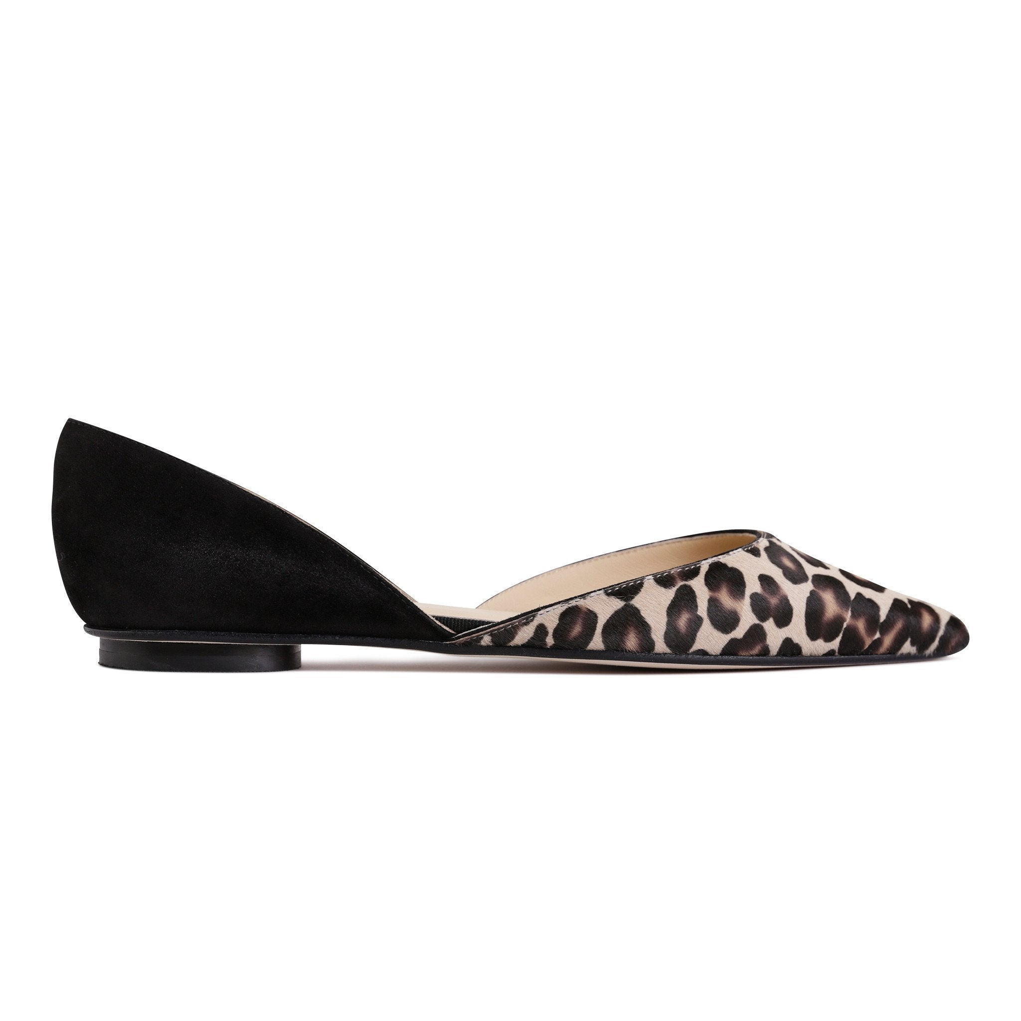 PONZA - Velukid Nero + Calf Hair Congo, VIAJIYU - Women's Hand Made Sustainable Luxury Shoes. Made in Italy. Made to Order.