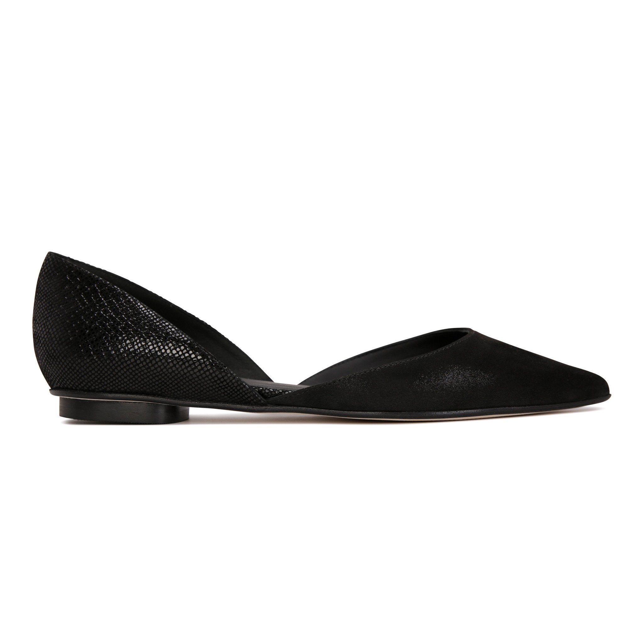 PONZA - Hydra + Karung Nero, VIAJIYU - Women's Hand Made Sustainable Luxury Shoes. Made in Italy. Made to Order.