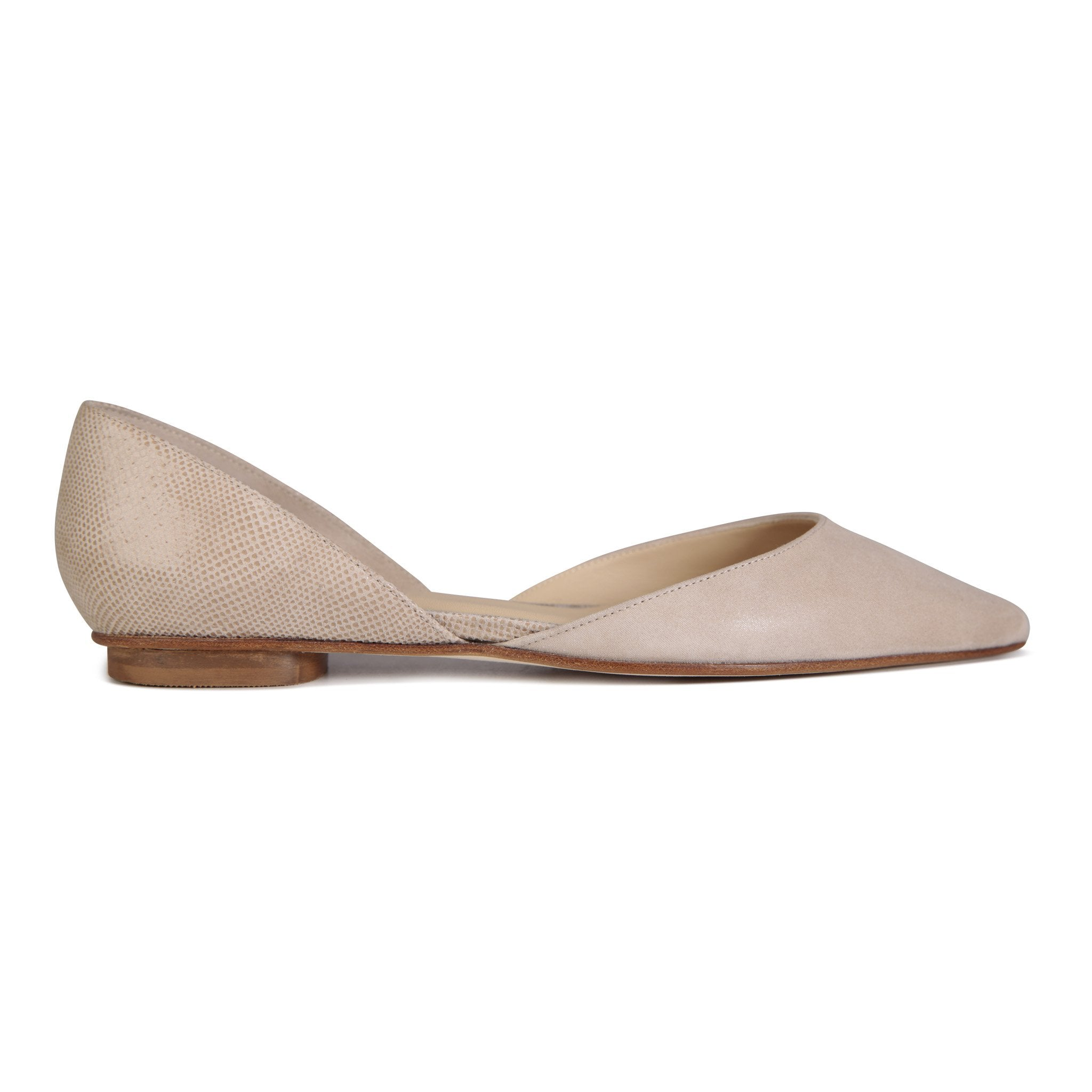 PONZA - Hydra Tan + Karung, VIAJIYU - Women's Hand Made Sustainable Luxury Shoes. Made in Italy. Made to Order.