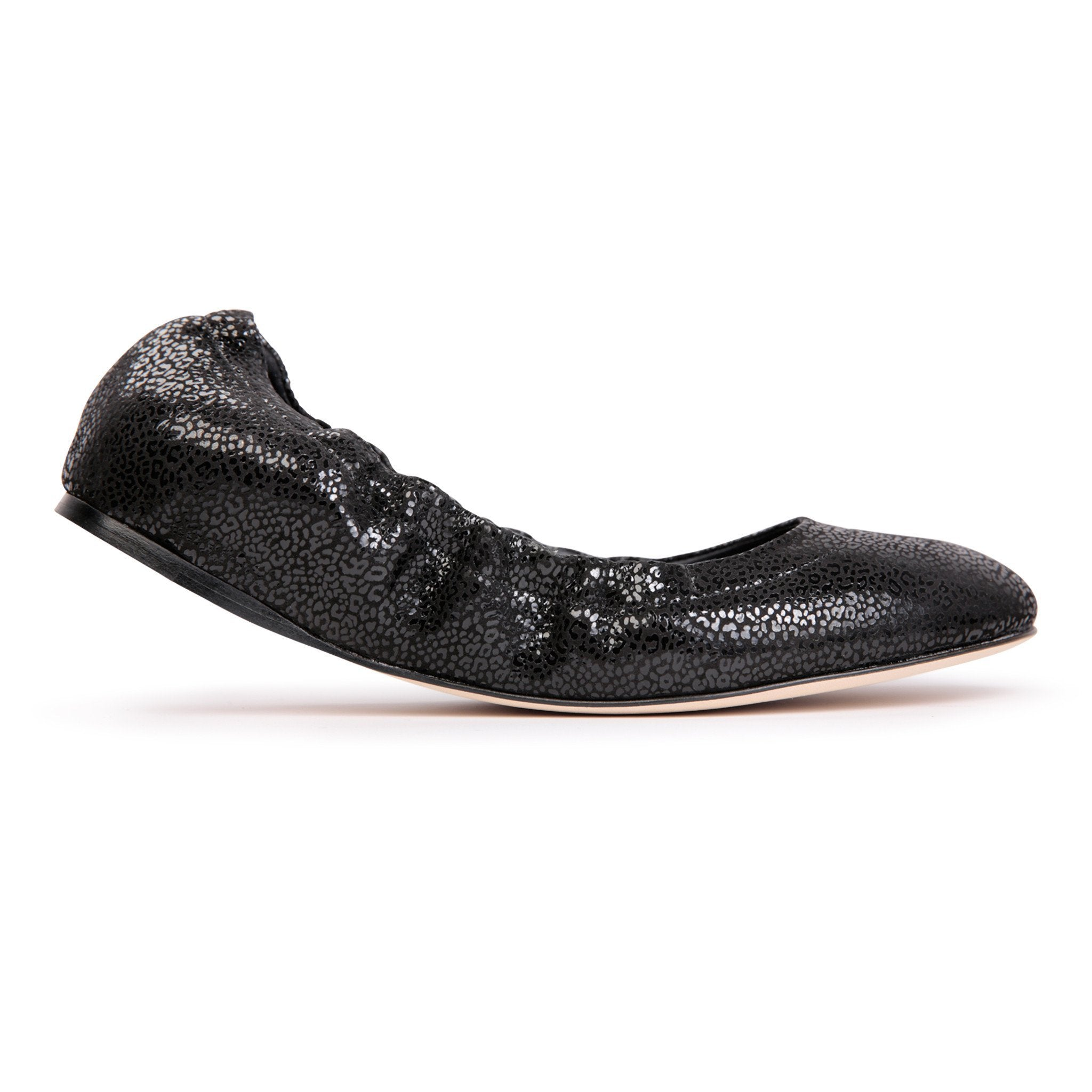 PORTOFINO - Savannah Nero, VIAJIYU - Women's Hand Made Sustainable Luxury Shoes. Made in Italy. Made to Order.