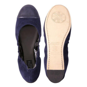 PORTOFINO - Velukid Midnight + Varanus, VIAJIYU - Women's Hand Made Sustainable Luxury Shoes. Made in Italy. Made to Order.