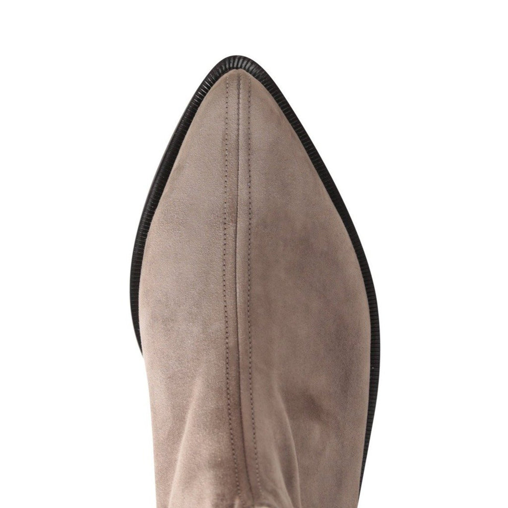 RAVELLO (Faux Suede), VIAJIYU - Women's Hand Made Sustainable Luxury Shoes. Made in Italy. Made to Order.