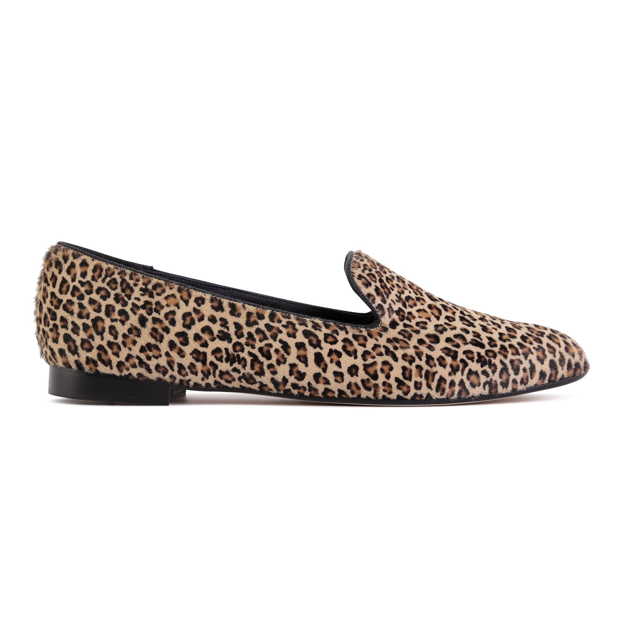 RAVENNA - Calf Hair Dune Minipard, VIAJIYU - Women's Hand Made Sustainable Luxury Shoes. Made in Italy. Made to Order.