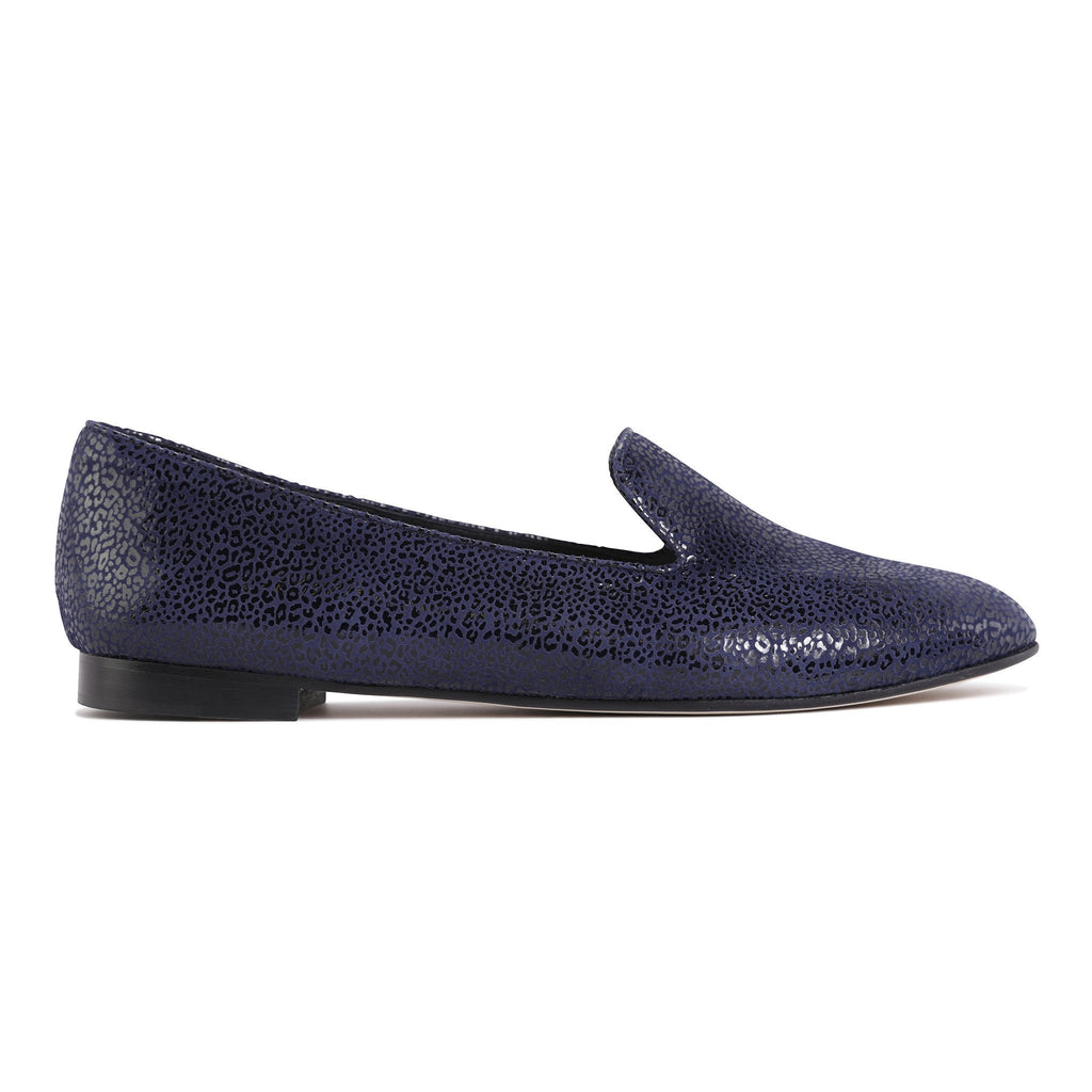 RAVENNA - Savannah Midnight, VIAJIYU - Women's Hand Made Sustainable Luxury Shoes. Made in Italy. Made to Order.
