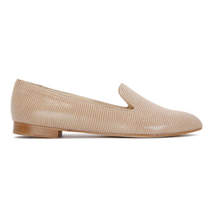 RAVENNA - Varanus Tan, VIAJIYU - Women's Hand Made Sustainable Luxury Shoes. Made in Italy. Made to Order.