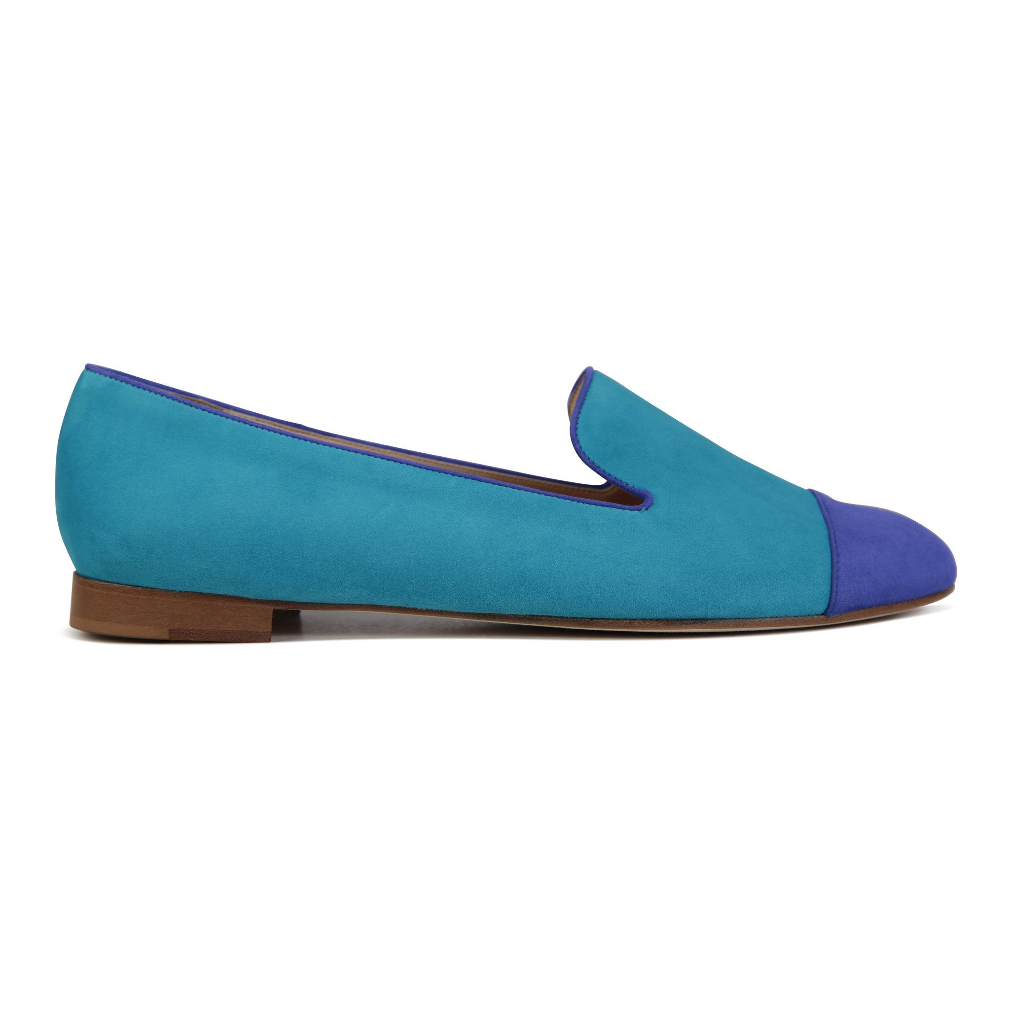 RAVENNA - Velukid Bella Aqua + Bella Donna, VIAJIYU - Women's Hand Made Sustainable Luxury Shoes. Made in Italy. Made to Order.