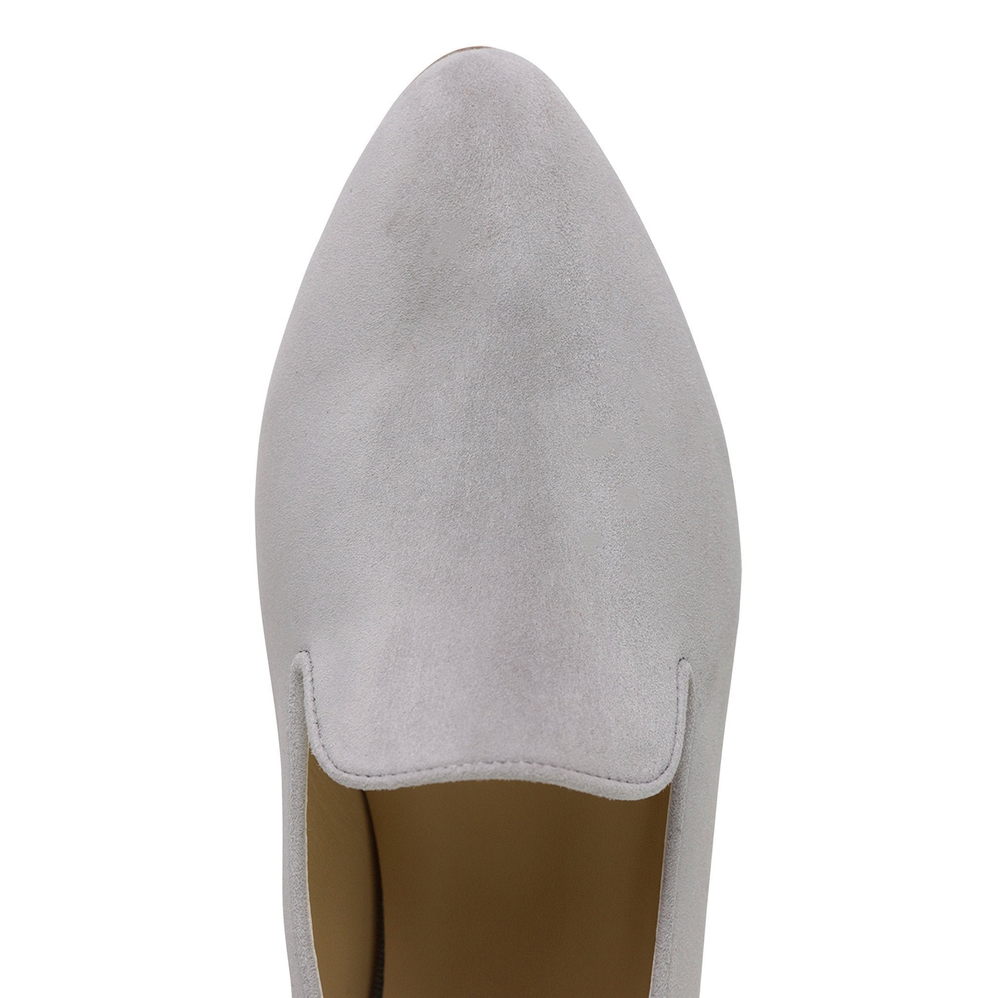 RAVENNA - Velukid Grigio, VIAJIYU - Women's Hand Made Sustainable Luxury Shoes. Made in Italy. Made to Order.