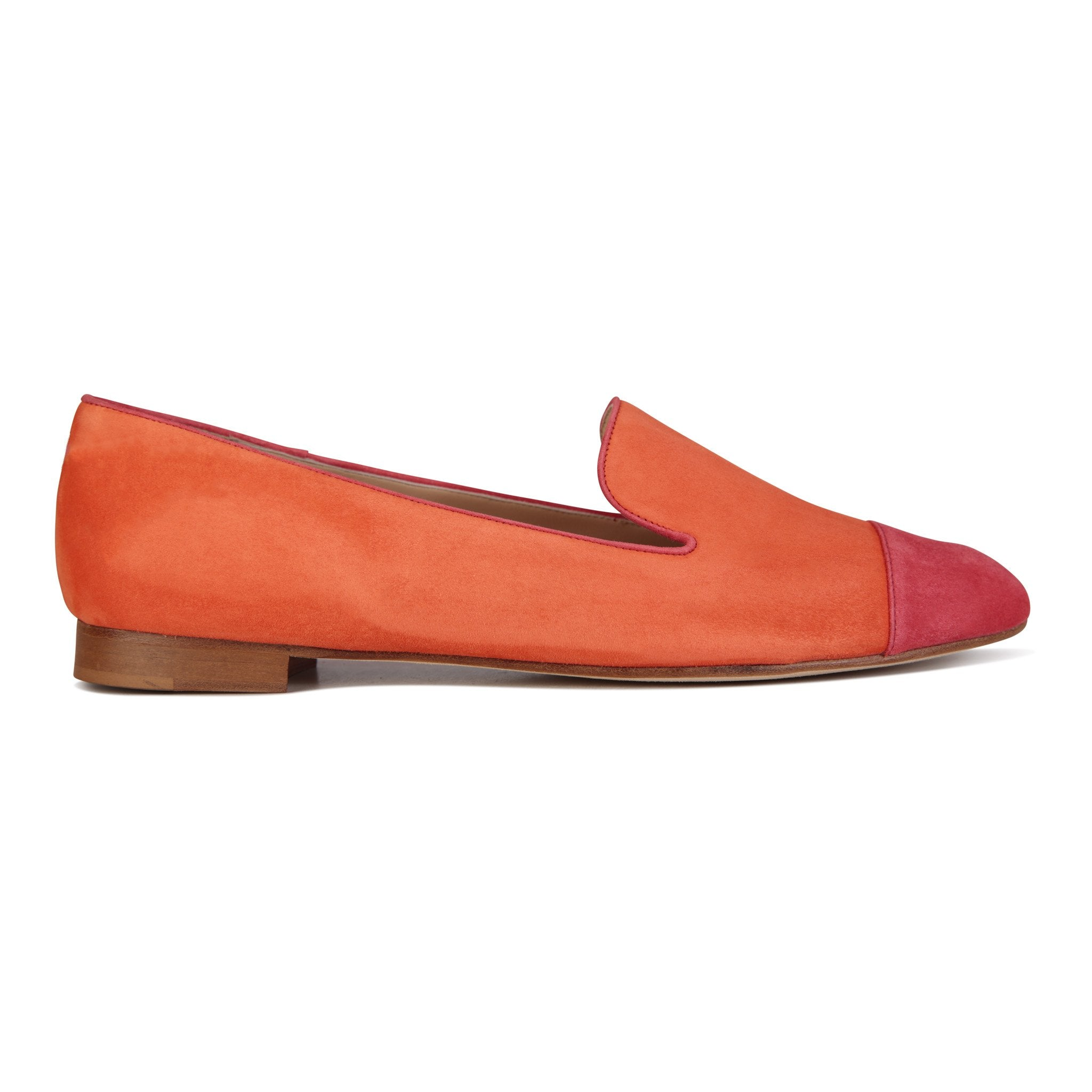 RAVENNA - Velukid Tuscan Sunset + Dusk, VIAJIYU - Women's Hand Made Sustainable Luxury Shoes. Made in Italy. Made to Order.