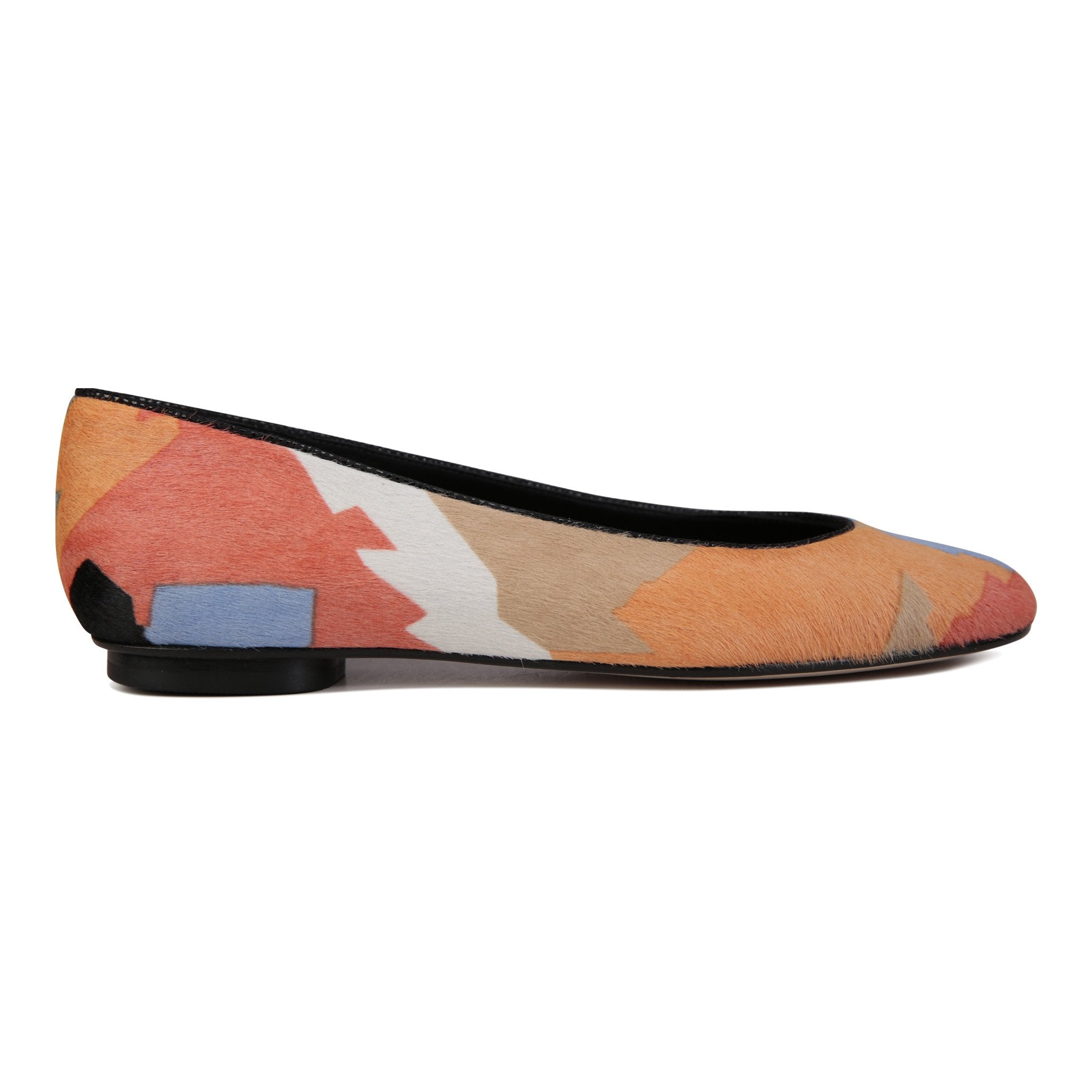 ROMA - Calf Hair Rio II, VIAJIYU - Women's Hand Made Sustainable Luxury Shoes. Made in Italy. Made to Order.