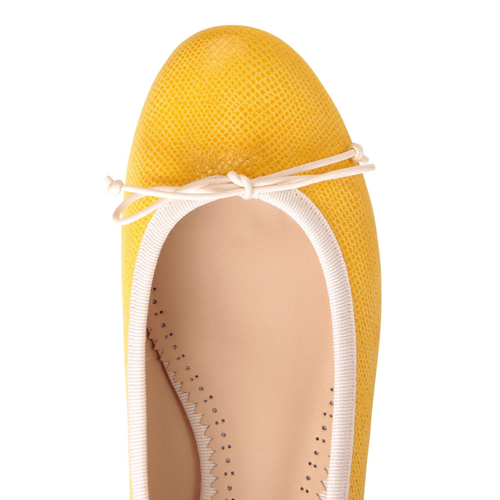ROMA - Karung Diana's Dream + Grosgrain Panna Bow, VIAJIYU - Women's Hand Made Sustainable Luxury Shoes. Made in Italy. Made to Order.