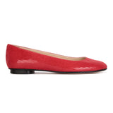 ROMA - Varanus Rosso, VIAJIYU - Women's Hand Made Sustainable Luxury Shoes. Made in Italy. Made to Order.