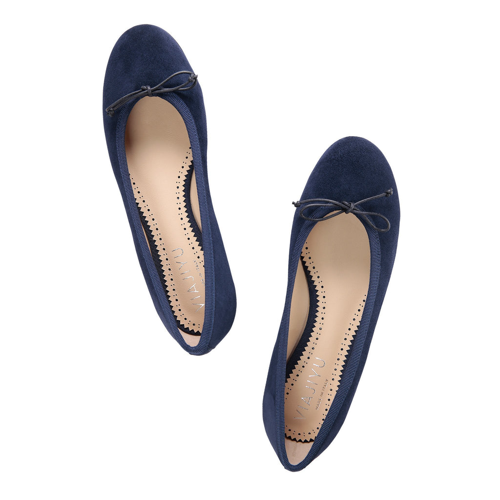 ROMA (faux suede), VIAJIYU - Women's Hand Made Sustainable Luxury Shoes. Made in Italy. Made to Order.