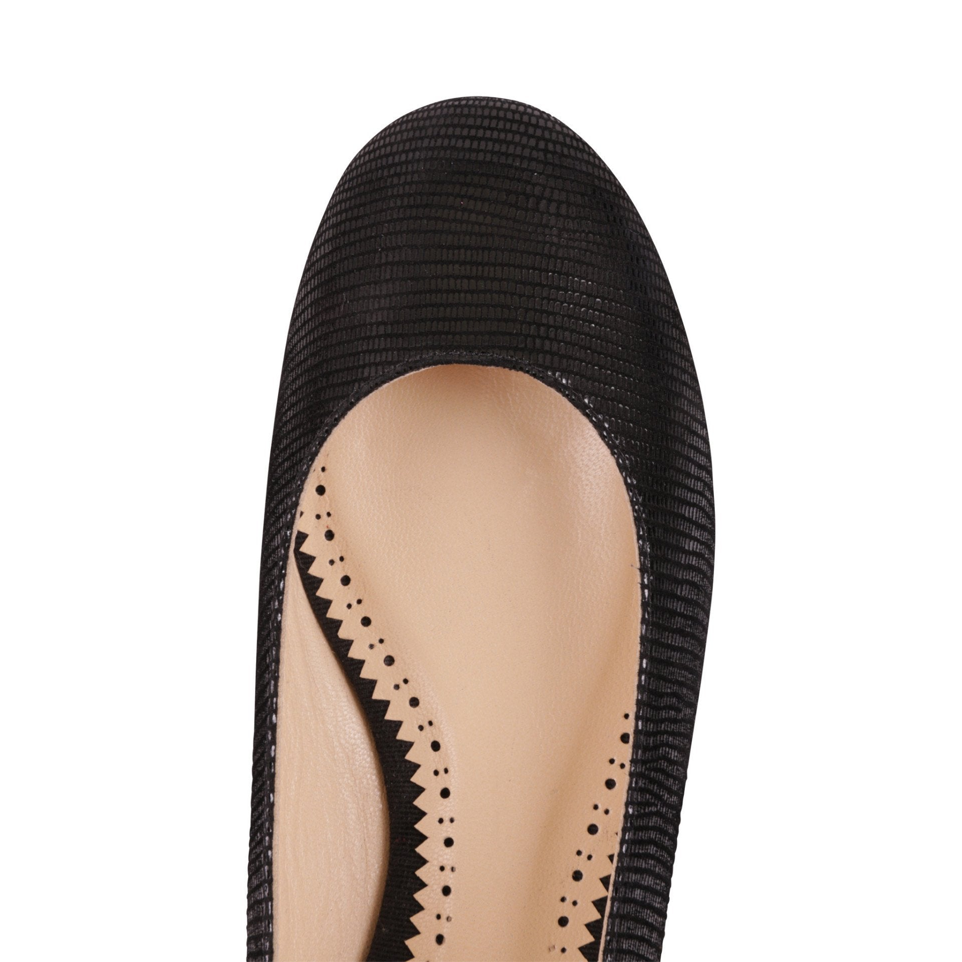 ROMA - Varanus Nero, VIAJIYU - Women's Hand Made Sustainable Luxury Shoes. Made in Italy. Made to Order.