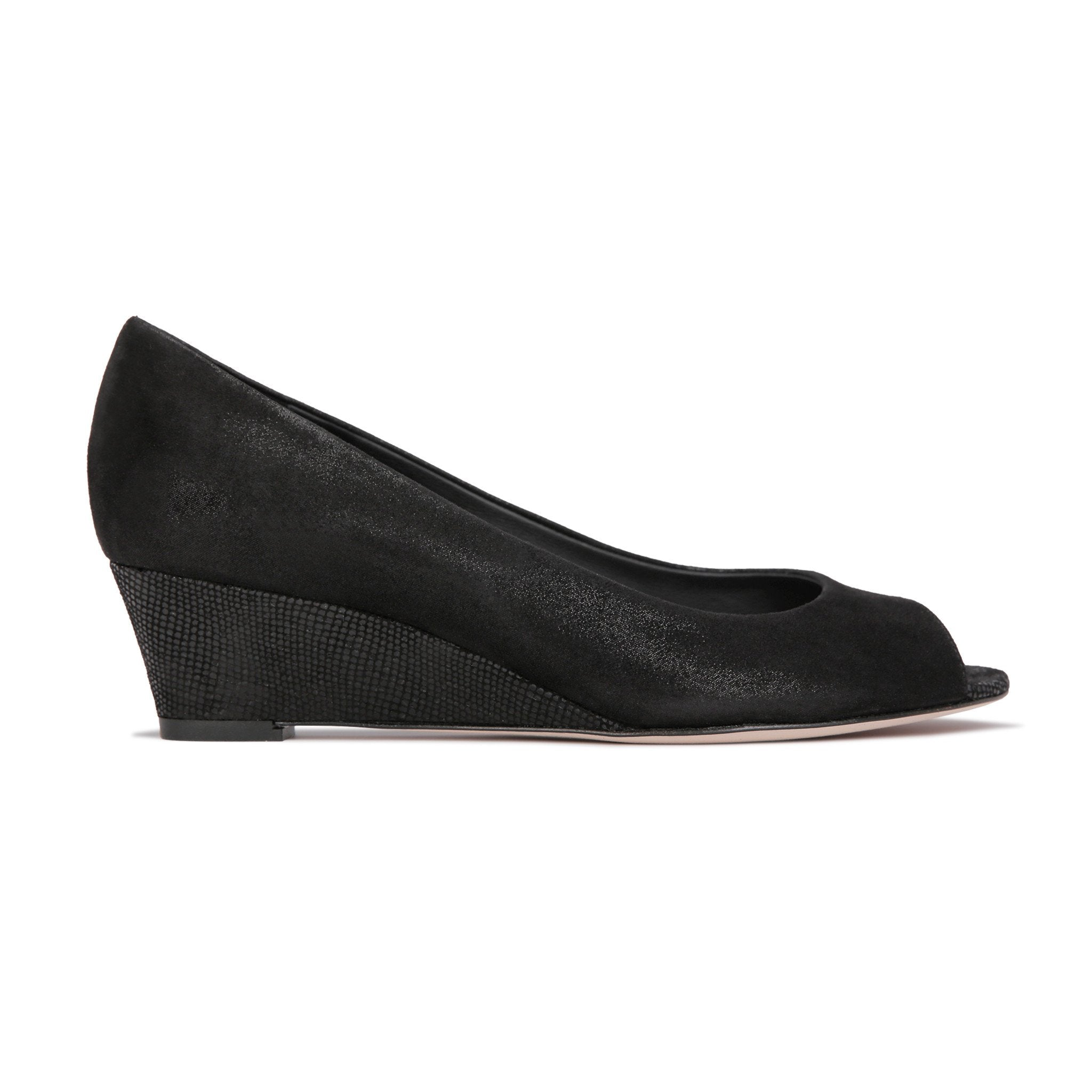 SARDINIA - Hydra Nero + Karung, VIAJIYU - Women's Hand Made Sustainable Luxury Shoes. Made in Italy. Made to Order.