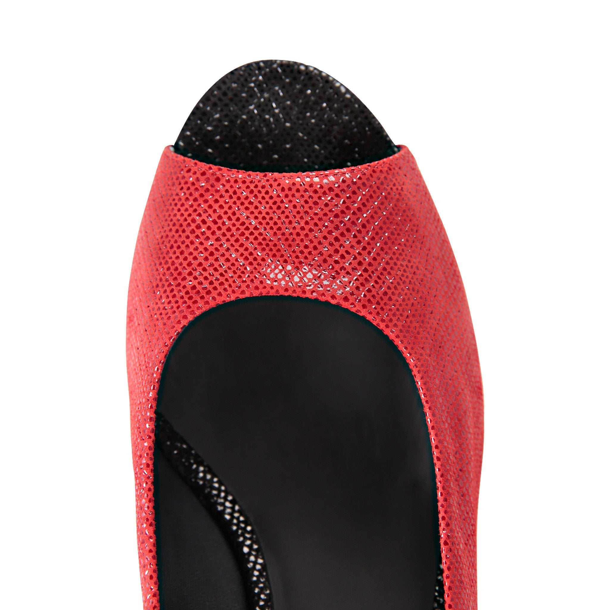SARDINIA - Karung Rosso + Karung Nero, VIAJIYU - Women's Hand Made Sustainable Luxury Shoes. Made in Italy. Made to Order.