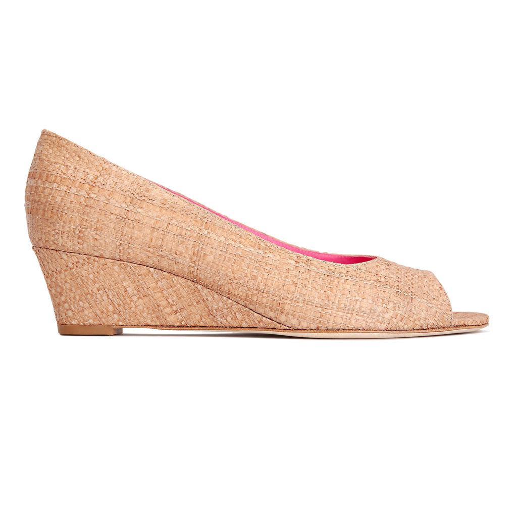SARDINIA (raffia), VIAJIYU - Women's Hand Made Sustainable Luxury Shoes. Made in Italy. Made to Order.