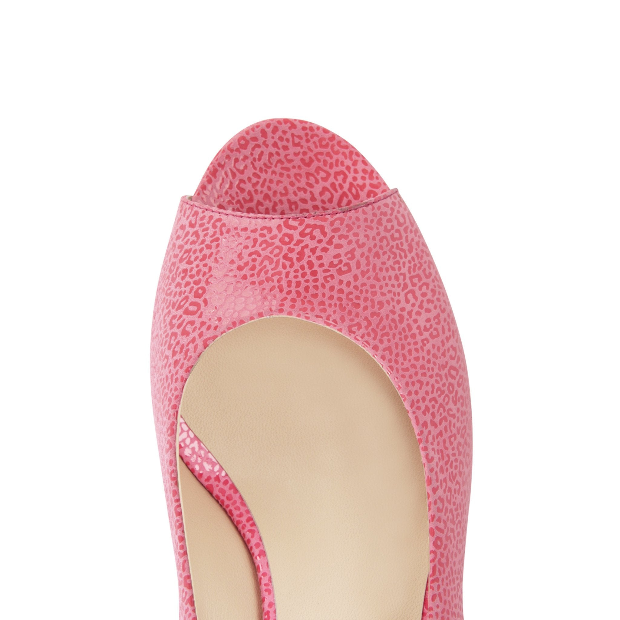 SARDINIA - Savannah Epiphany Pink, VIAJIYU - Women's Hand Made Sustainable Luxury Shoes. Made in Italy. Made to Order.