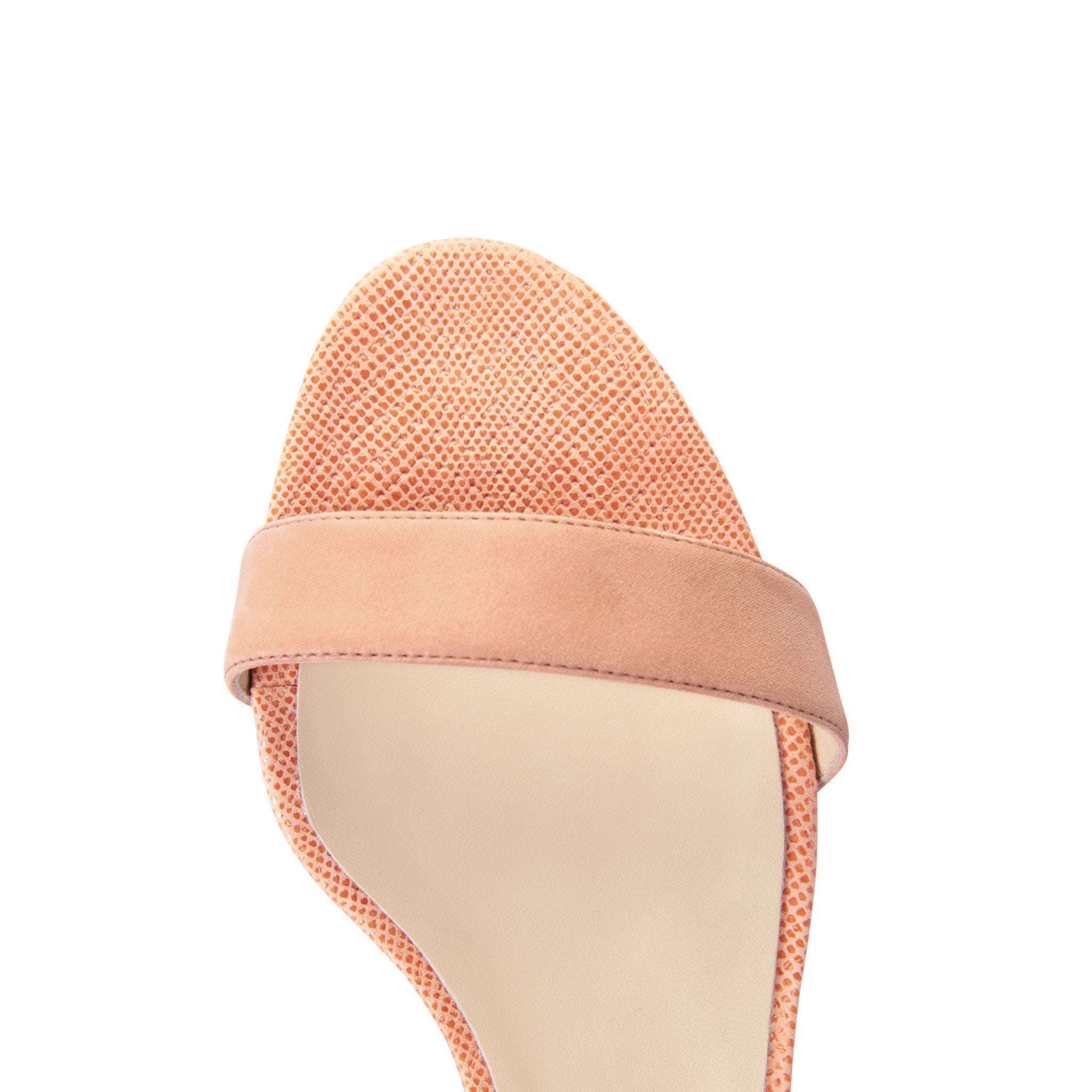 SAVONA - Hydra + Karung Rosy Cheeks, VIAJIYU - Women's Hand Made Sustainable Luxury Shoes. Made in Italy. Made to Order.