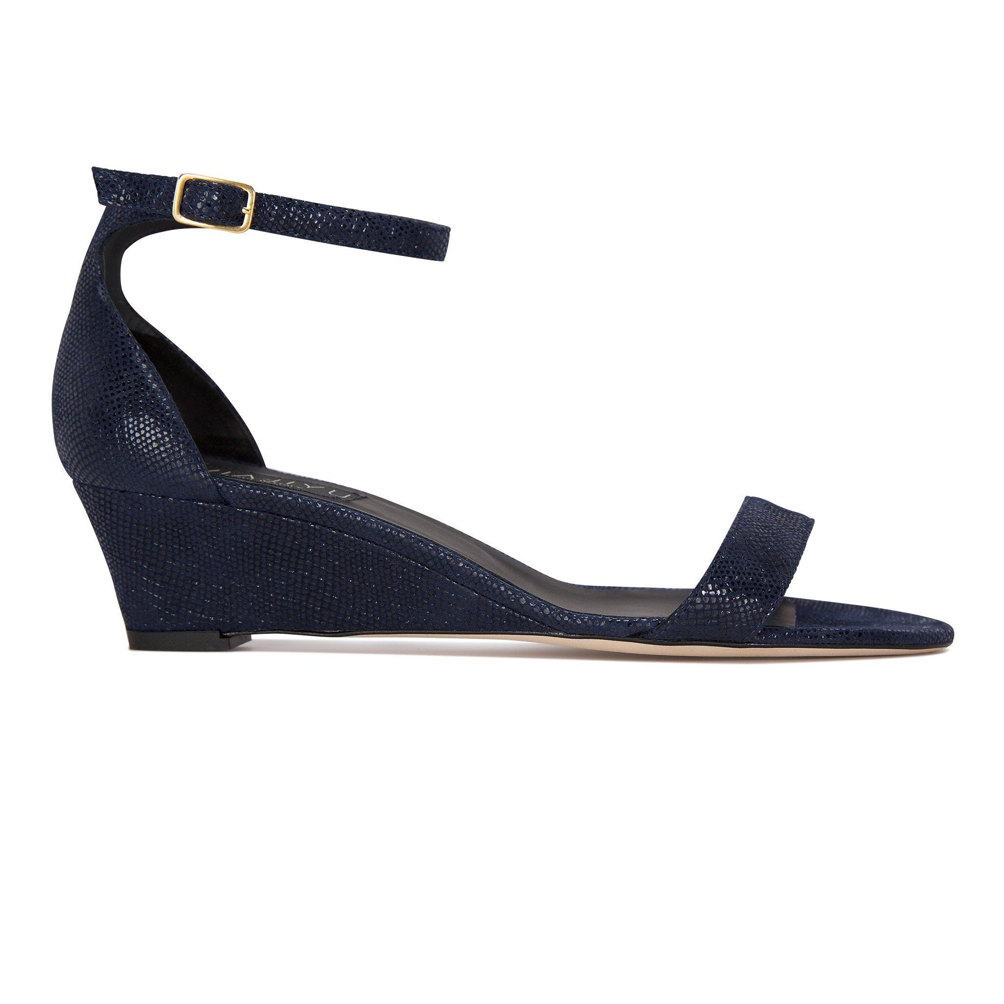 SAVONA - Karung Midnight, VIAJIYU - Women's Hand Made Sustainable Luxury Shoes. Made in Italy. Made to Order.