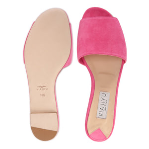 SICILY - Hydra Epiphany Pink, VIAJIYU - Women's Hand Made Sustainable Luxury Shoes. Made in Italy. Made to Order.