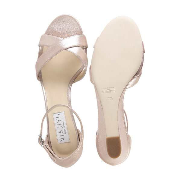 Sorrento, VIAJIYU - Women's Hand Crafted Luxury Flats. Made in Italy. Made to Order. Design your own.