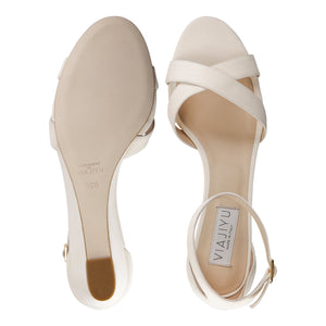 SORRENTO - Velukid Bone, VIAJIYU - Women's Hand Made Sustainable Luxury Shoes. Made in Italy. Made to Order.