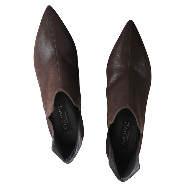 SYRENE, VIAJIYU - Women's Hand Made Luxury Flat Shoes. Made in Italy. Made to Order. Design your own. Booties