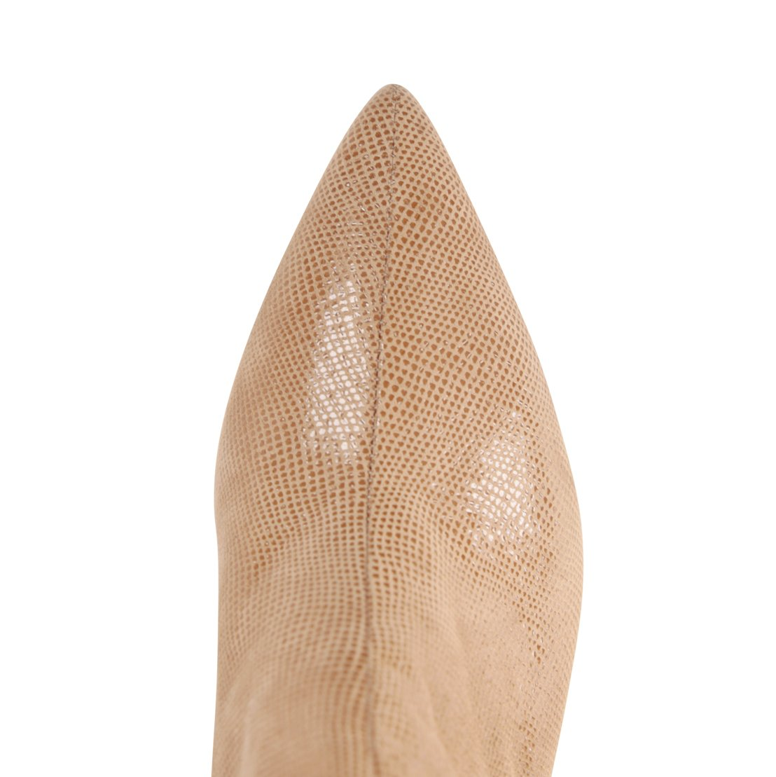 SYRENE - Karung Tan + Velukid White, VIAJIYU - Women's Hand Made Sustainable Luxury Shoes. Made in Italy. Made to Order.