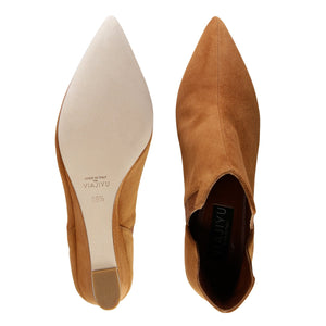 SYRENE - Velukid Dune + Grosgrain Camoscio, VIAJIYU - Women's Hand Made Sustainable Luxury Shoes. Made in Italy. Made to Order.