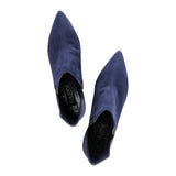 SYRENE - Velukid Midnight + Varanus Nero, VIAJIYU - Women's Hand Made Sustainable Luxury Shoes. Made in Italy. Made to Order.