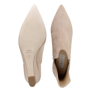 SYRENE - Velukid + Karung Tan, VIAJIYU - Women's Hand Made Sustainable Luxury Shoes. Made in Italy. Made to Order.