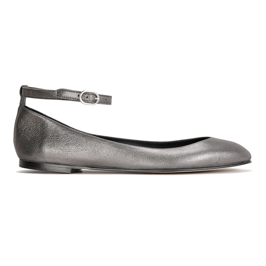 TORINO - Burma Anthracite, VIAJIYU - Women's Hand Made Sustainable Luxury Shoes. Made in Italy. Made to Order.