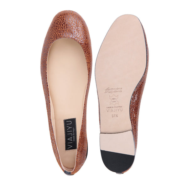 Torino, VIAJIYU - Women's Hand Crafted Luxury Flats. Made in Italy. Made to Order. Design your own.