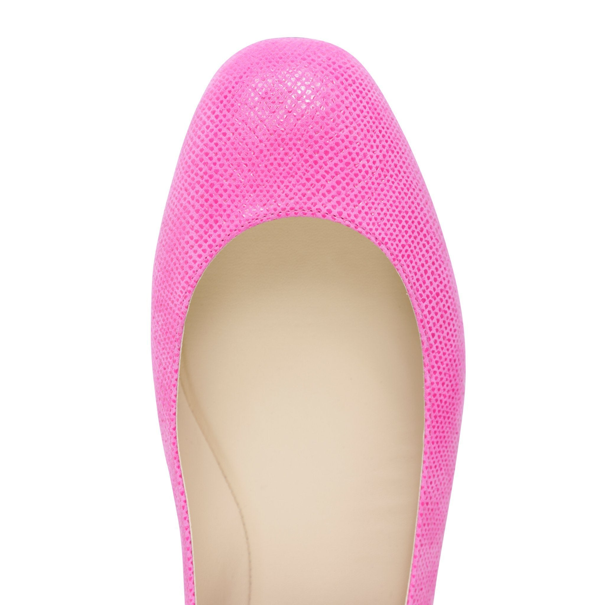 TORINO - Karung Epiphany Pink + Nappa Panna, VIAJIYU - Women's Hand Made Sustainable Luxury Shoes. Made in Italy. Made to Order.
