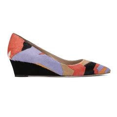 TRENTO Pointed toe wedge