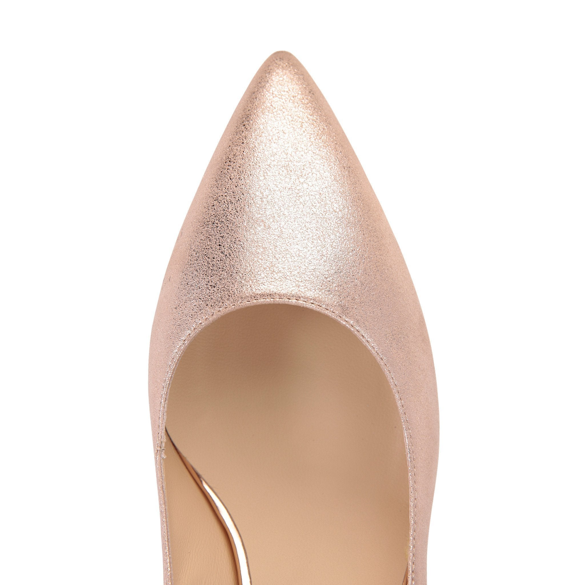 TRENTO - Burma Rose Gold + Metallic Light Copper - VIAJIYU Shoes
