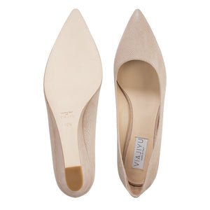 TRENTO - Karung Tan, VIAJIYU - Women's Hand Made Sustainable Luxury Shoes. Made in Italy. Made to Order.
