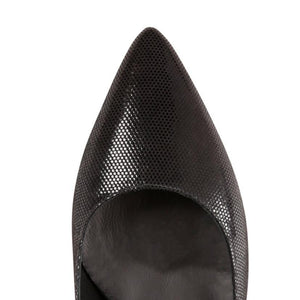 TRENTO - Lady Nero, VIAJIYU - Women's Hand Made Sustainable Luxury Shoes. Made in Italy. Made to Order.