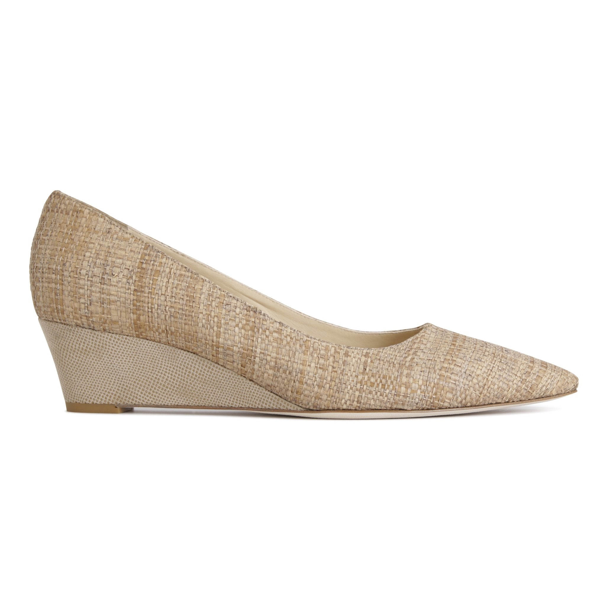 TRENTO - Raffia Natural + Karung Tan, VIAJIYU - Women's Hand Made Sustainable Luxury Shoes. Made in Italy. Made to Order.