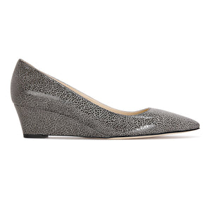 TRENTO - Savannah Anthracite, VIAJIYU - Women's Hand Made Sustainable Luxury Shoes. Made in Italy. Made to Order.