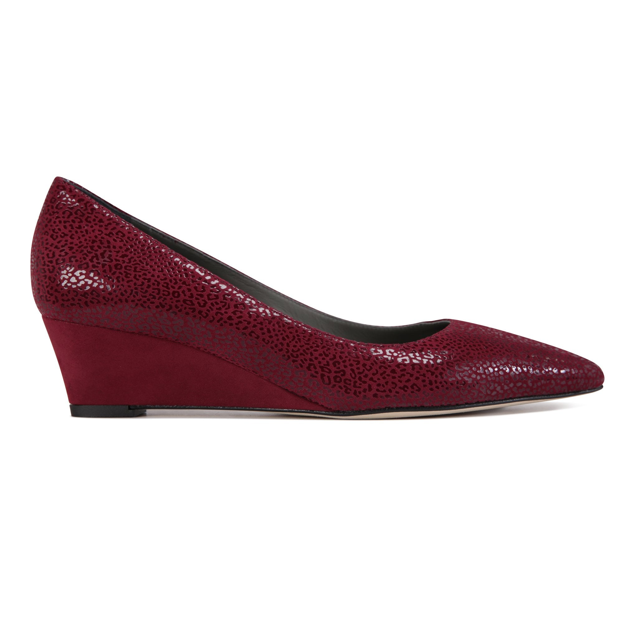 TRENTO - Savannah + Velukid Bordeaux, VIAJIYU - Women's Hand Made Sustainable Luxury Shoes. Made in Italy. Made to Order.