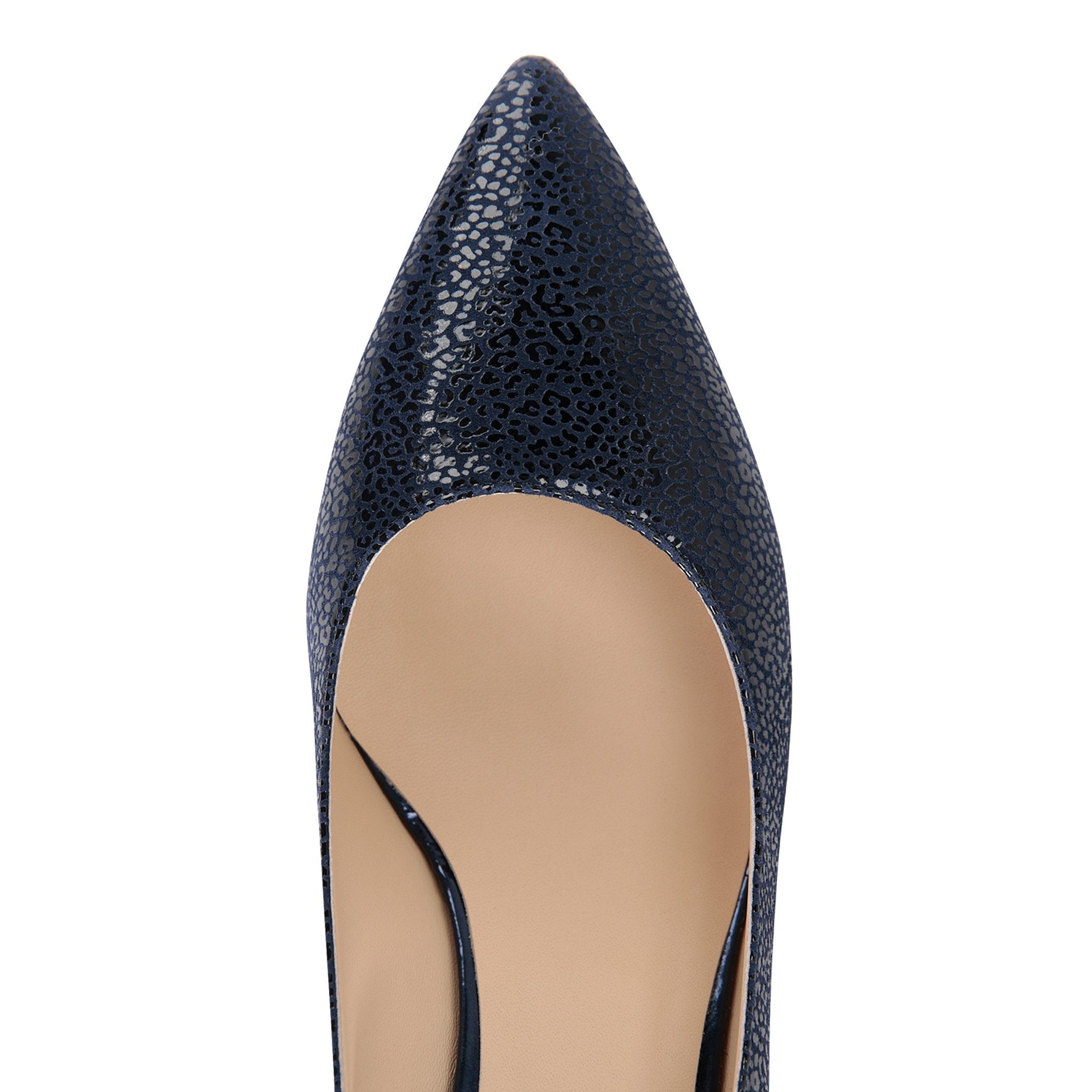 TRENTO - Savannah + Patent Midnight - VIAJIYU Shoes