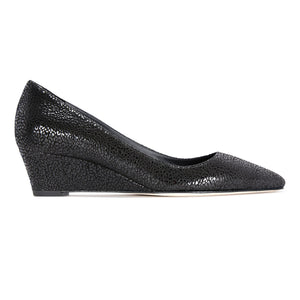 TRENTO - Savannah Nero, VIAJIYU - Women's Hand Made Sustainable Luxury Shoes. Made in Italy. Made to Order.