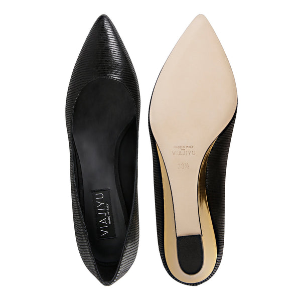 Trento, VIAJIYU - Women's Hand Crafted Luxury Flats. Made in Italy. Made to Order. Design your own.